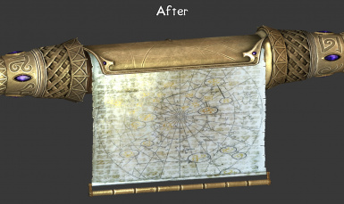 Increased saturation and contrast so Elder Scrolls are less flat looking