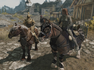 Armored Horses 4