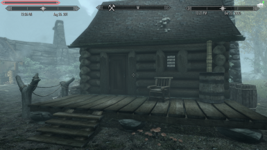 The Lumber Camp where the two companions are found