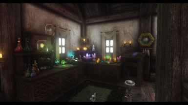 Player Room Alchemy and Enchanting stations