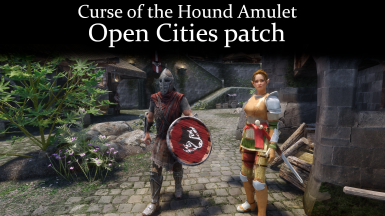 Curse of the Hound Amulet - Open Cities patch