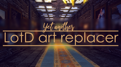 Yet another Legacy of the Dragonborn art replacer - paintings murals frames