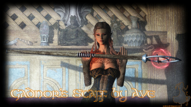 Gadnor's Staff by Ave