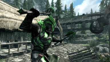 Vvardenfell Glass Armor and Weapons SE - Spanish Translation