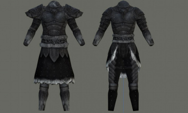Sleek Wolf Armor for Males and Females (CBBE)
