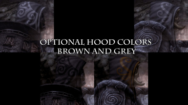 Optional hood colors default is black