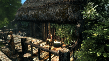 Relaxing afternoon in Riverwood