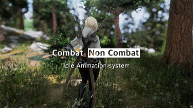 Smooth Combat - Non Combat Animation System