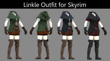 Linkle Outfit UNP for SkyrimSE