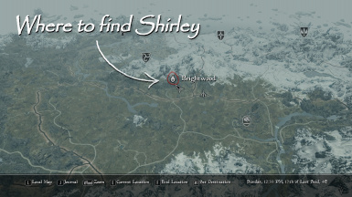Where to find Shirley