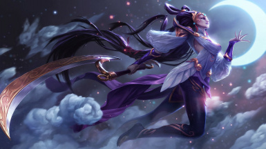 Diana Scorn of the Moon - PC Head Tracking and Voice Type - League of Legend - Legends of Runeterra