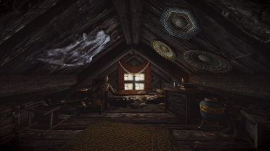 Somnolent Nook -- Small Attic Player Home in Riften