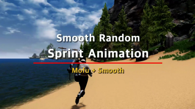 Smooth Random Sprint Animation