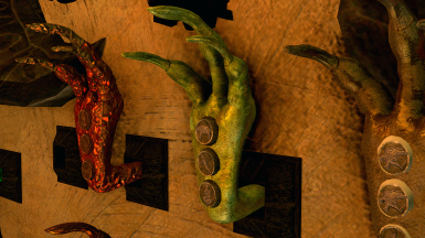 JS Dragon Claws Legacy of the Dragonborn patch