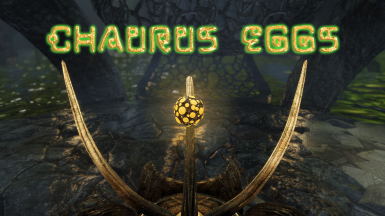Kanjs - Chaurus eggs and staff - 4k - 2k - 1k - New Meshes - Animated Textures