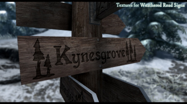 Textures for Weathered Road Signs Fixed - Version 1.1