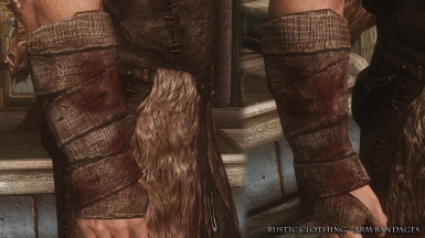 Rustic Clothing Arm Bandages 01