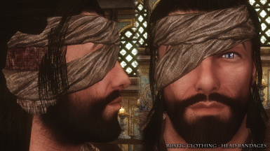 Rustic Clothing Head Bandages 01