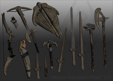 Horker Weapon Pack 1