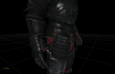 Coming Soon: Ebony Armor 2.0 with improved gauntlets