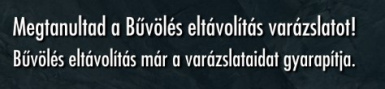 Remove Enchantment Only - Hungarian translation