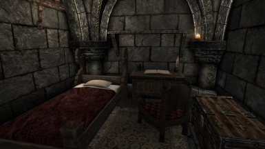 Player dorm room at the Bards College