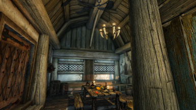 Cyrodiilic influence in Riverwood Trader, home of 2 Imperials.