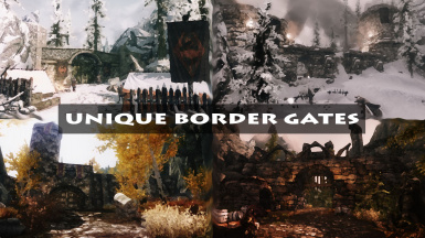 Unique Border Gates SE