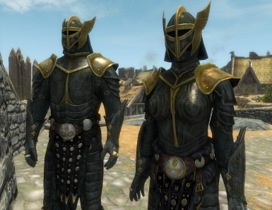 Blued Steel Plate Armor - Special Edition