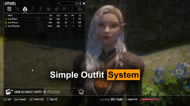 Simple Outfit System