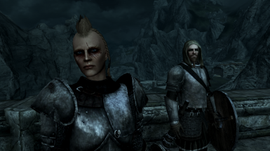 Thonar's thugs on the lookout for Forsworn in Markarth. Trust me, they're needed!