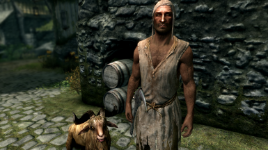 The Ragman and his companion Herbert - part of the new Beastmaster update.