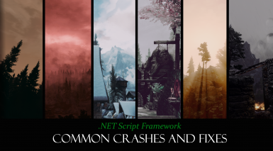 .NET Script Framework's Common Crashes and Fixes