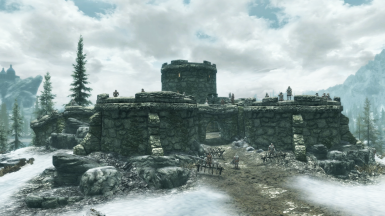 Heavily Defended Fort Snowhawk