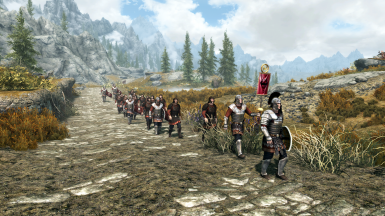 Imperial Army Advancing (NordwarUA Armors)