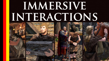 Immersive Interactions - Animated Actions - German