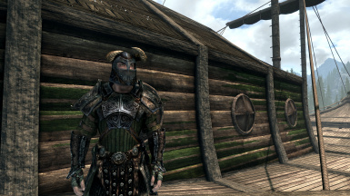 Helmet is Part of The Mod. Armor is The Armor of Yngol by Witcher5688