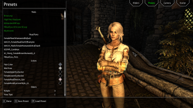 Ciri Witcher 3 Character Preset high poly