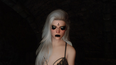 Gothic Makeup for RaceMenu
