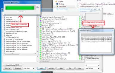 Importing a mod from a file - Step 3