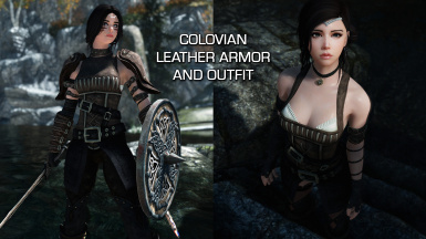 Colovian Leather Armor and Outfit SE - UNP - CBBE