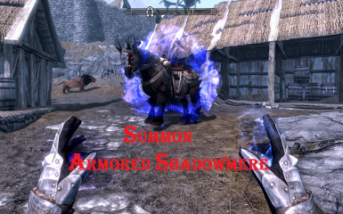 Summon Armored Shadowmere