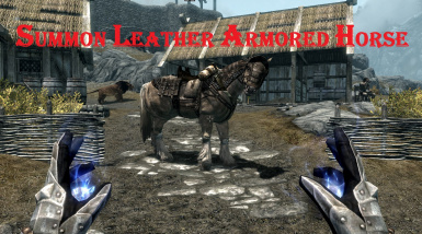 Summon Leather armored horse