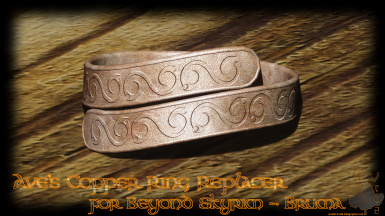 Ave's Copper Ring Replacer for Beyond Skyrim - Bruma