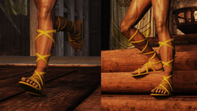 WIP - male sandals