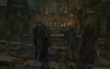 Me (lich for Path of Transcendence mod) and two of my guardians