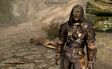 A Corpse Guardian with some gear I gave him