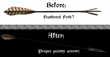 No More Fork-Like Dragonbone Arrows