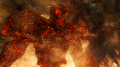 Fire Golem- Mihail Monsters and Animals (MIHAIL SSE PORT)