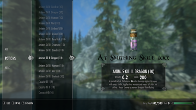 Animus II At Smithing Skill 100